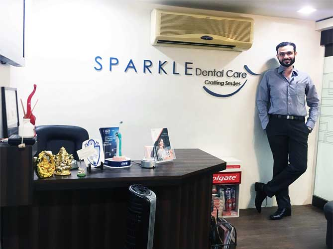 Sparkle Dental Care Clinic Lounge
